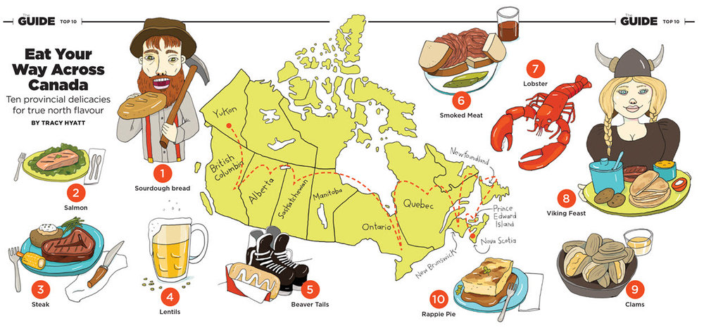 Eat Your Way Across Canada - MM863