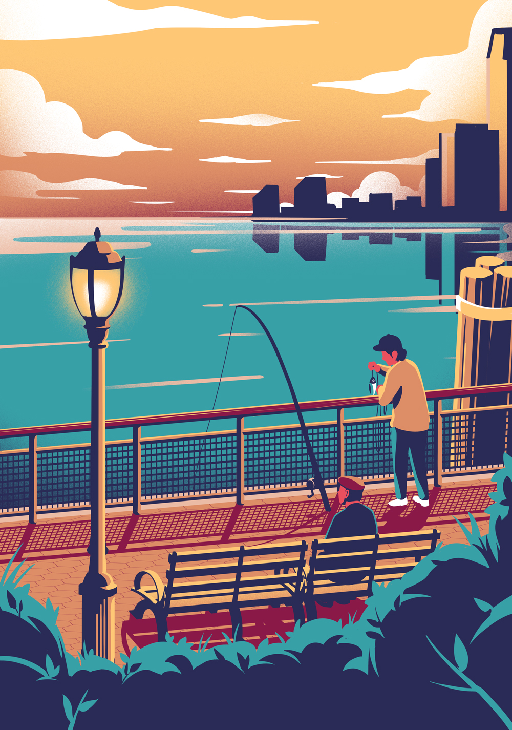 Fishing in New York - EC251