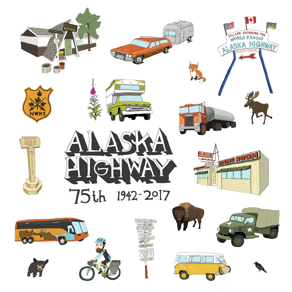 Alaska Highway - MM864