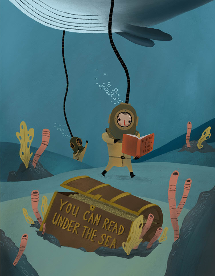 You Can Read Under the Sea - MH796-b