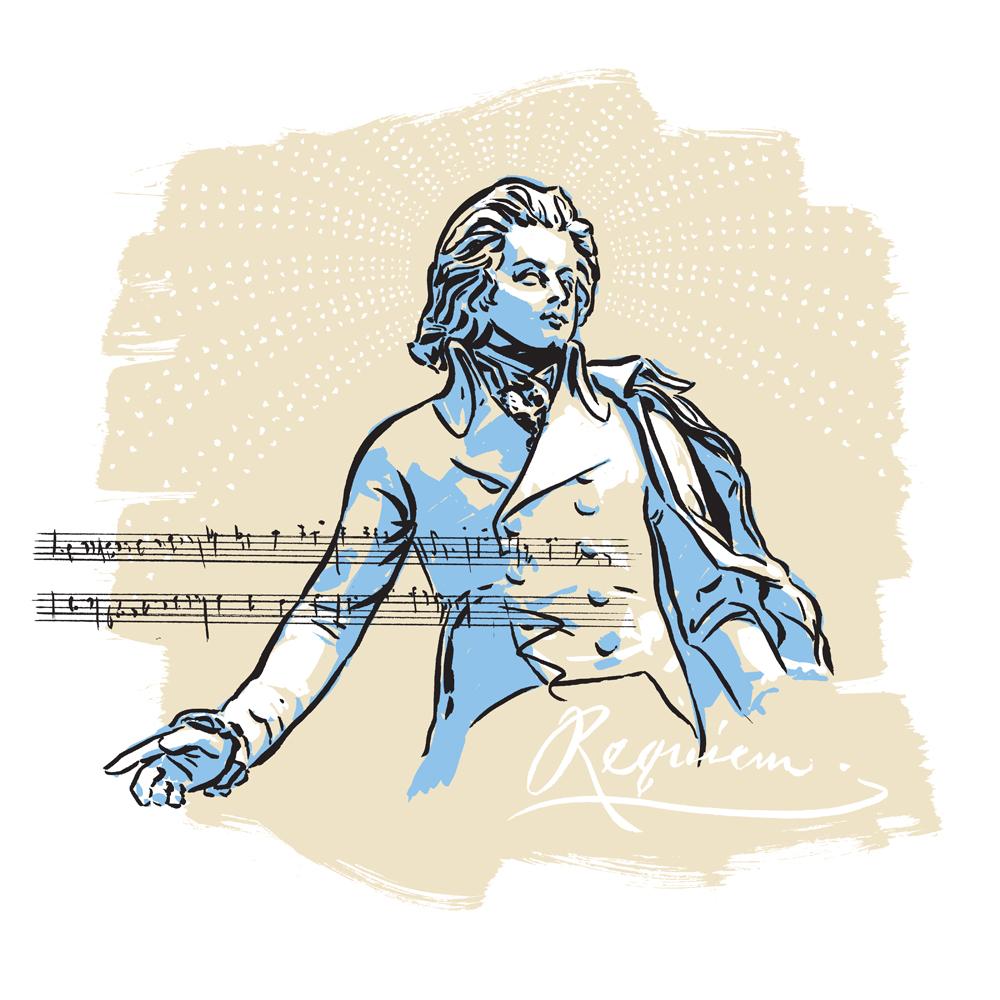 The Composer Mozart - GS880