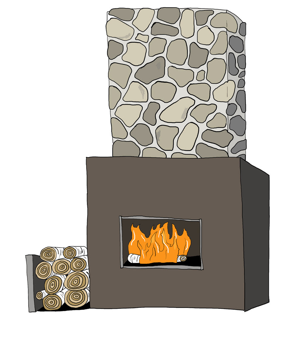 Outdoor Fireplace - MM871
