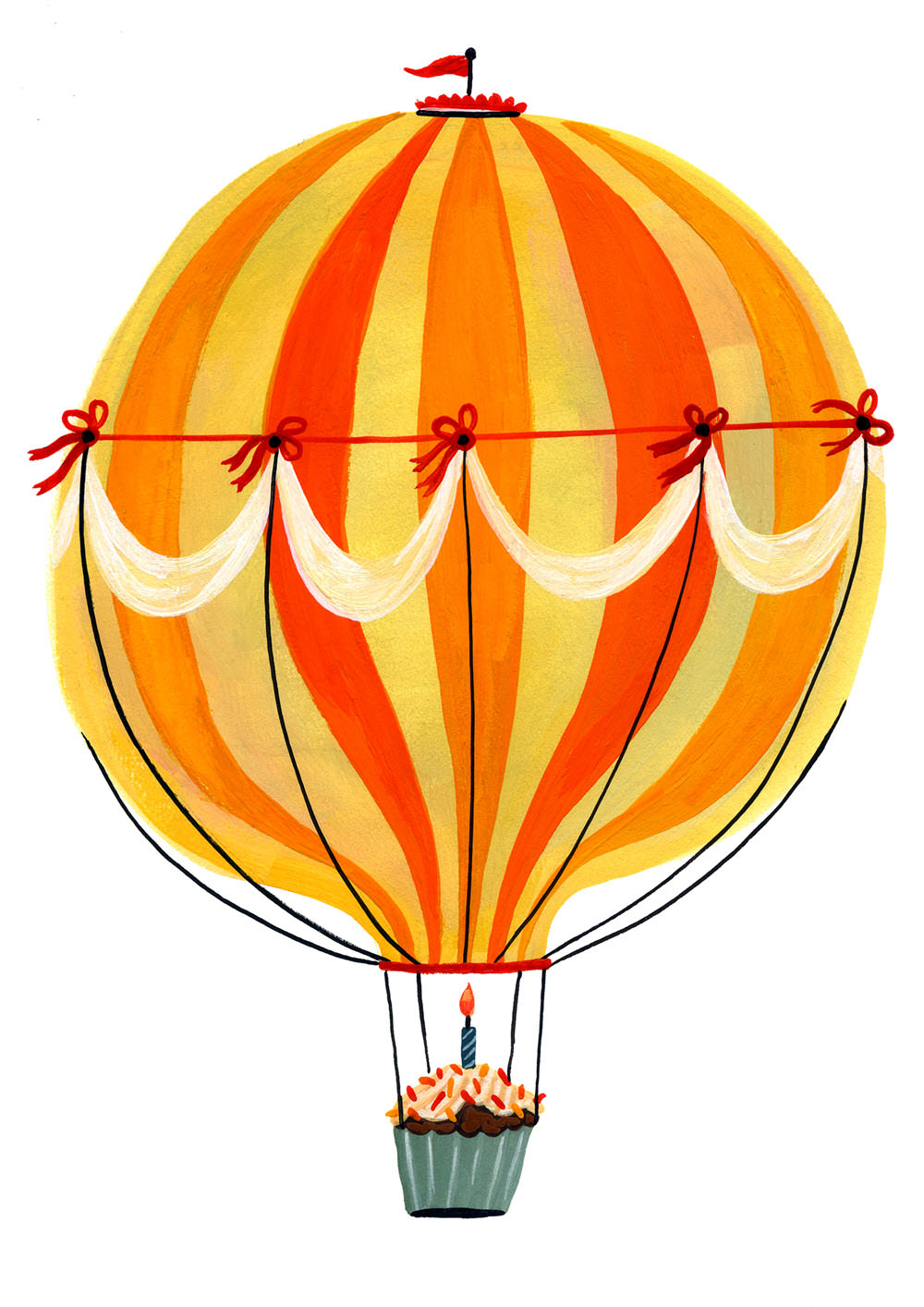 Hot Air Balloon - MH798