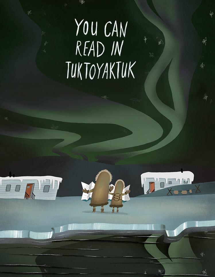 You Can Read in Tuktoyaktuk - MH797a