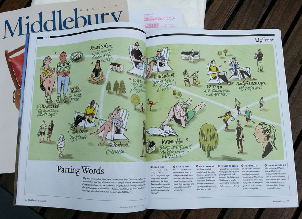 Middlebury Magazine, Summer Issue