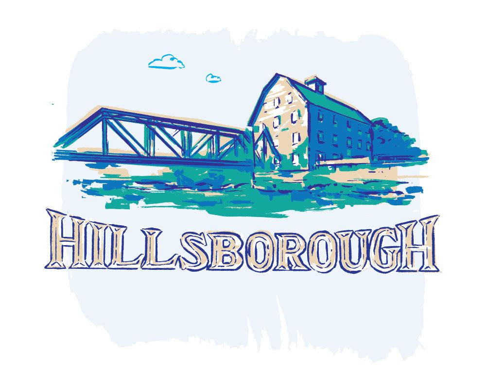 New Jersey Monthly Hillsborough illustration by Greg Stevenson