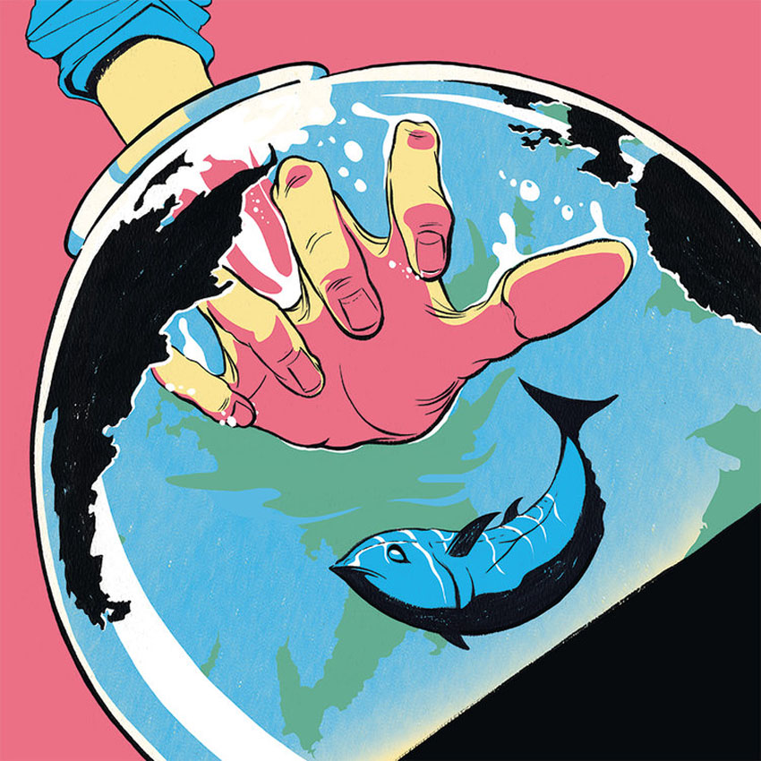 Save the Pacific Bluefin Tuna - RG124