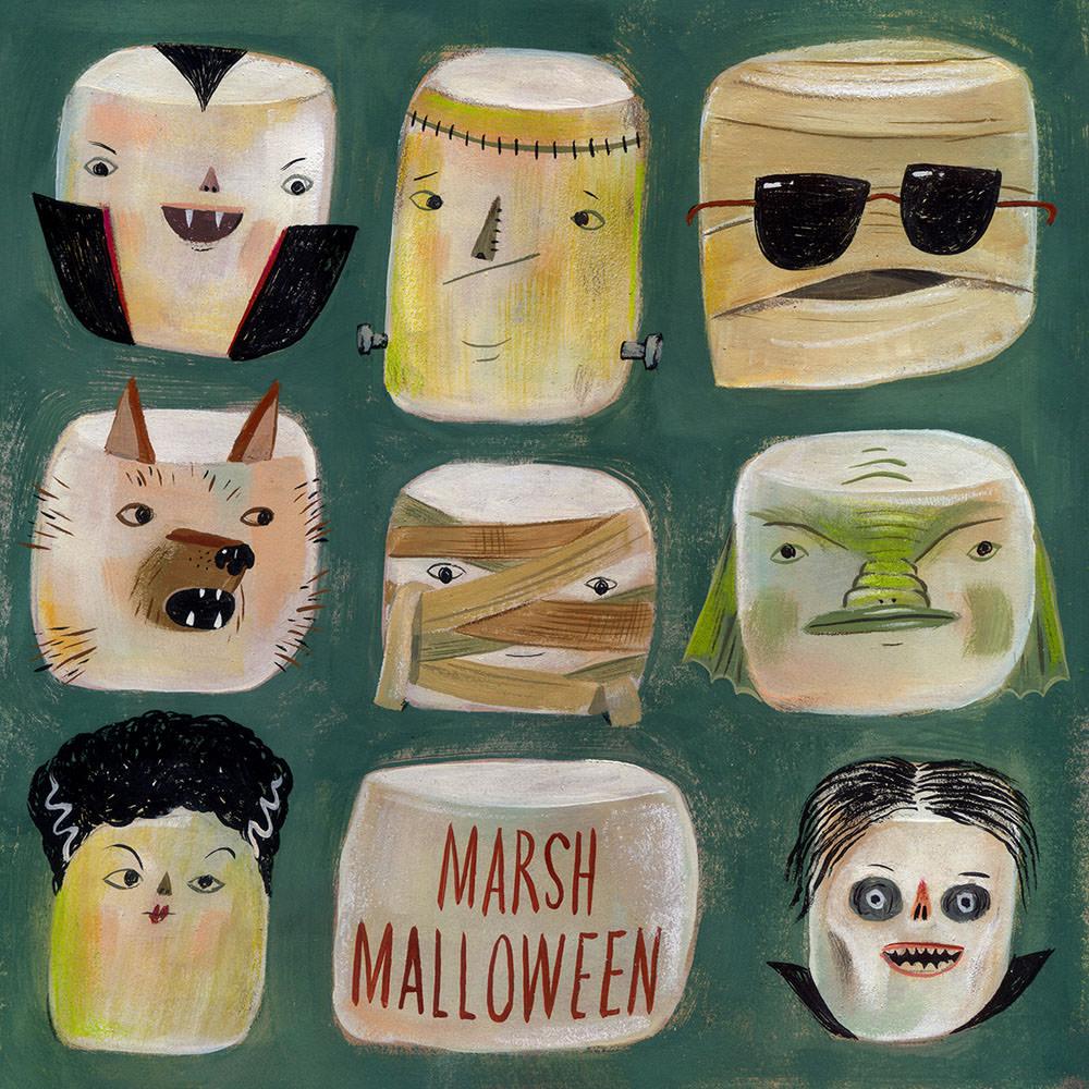 Happy Marshmalloween - MH841