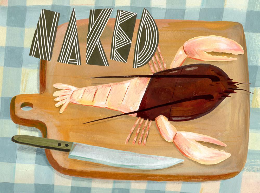 Naked Lobster - MH842