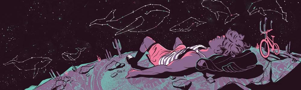 Star Gazing. Illustration by Ryan Garcia.