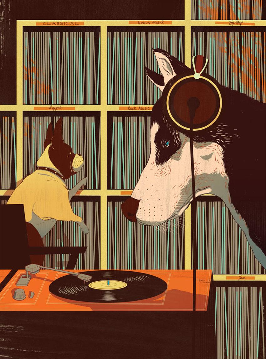 'Music Effects on Dog Behaviour' for Modern Dog Magazine