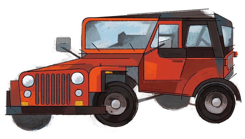 Jeep Wrangler - DM328