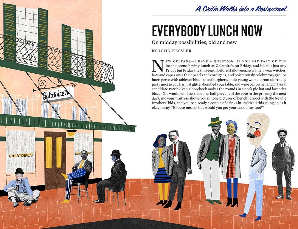 Everybody Lunch Now - NN269