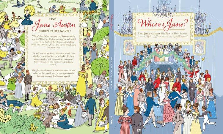 Wheres Jane Illustration By Katy Dockrill