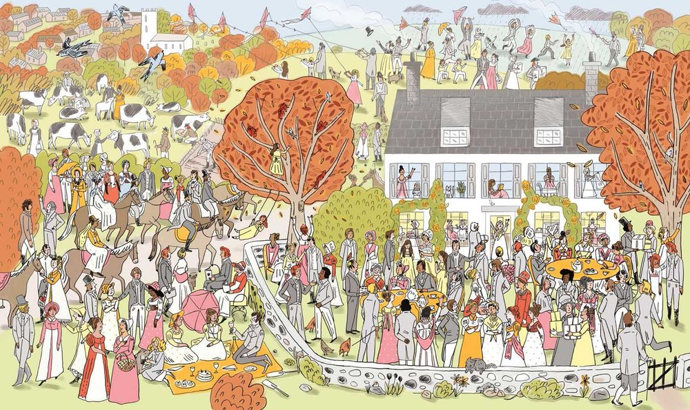 Where's Jane? Illustration by Katy Dockrill.