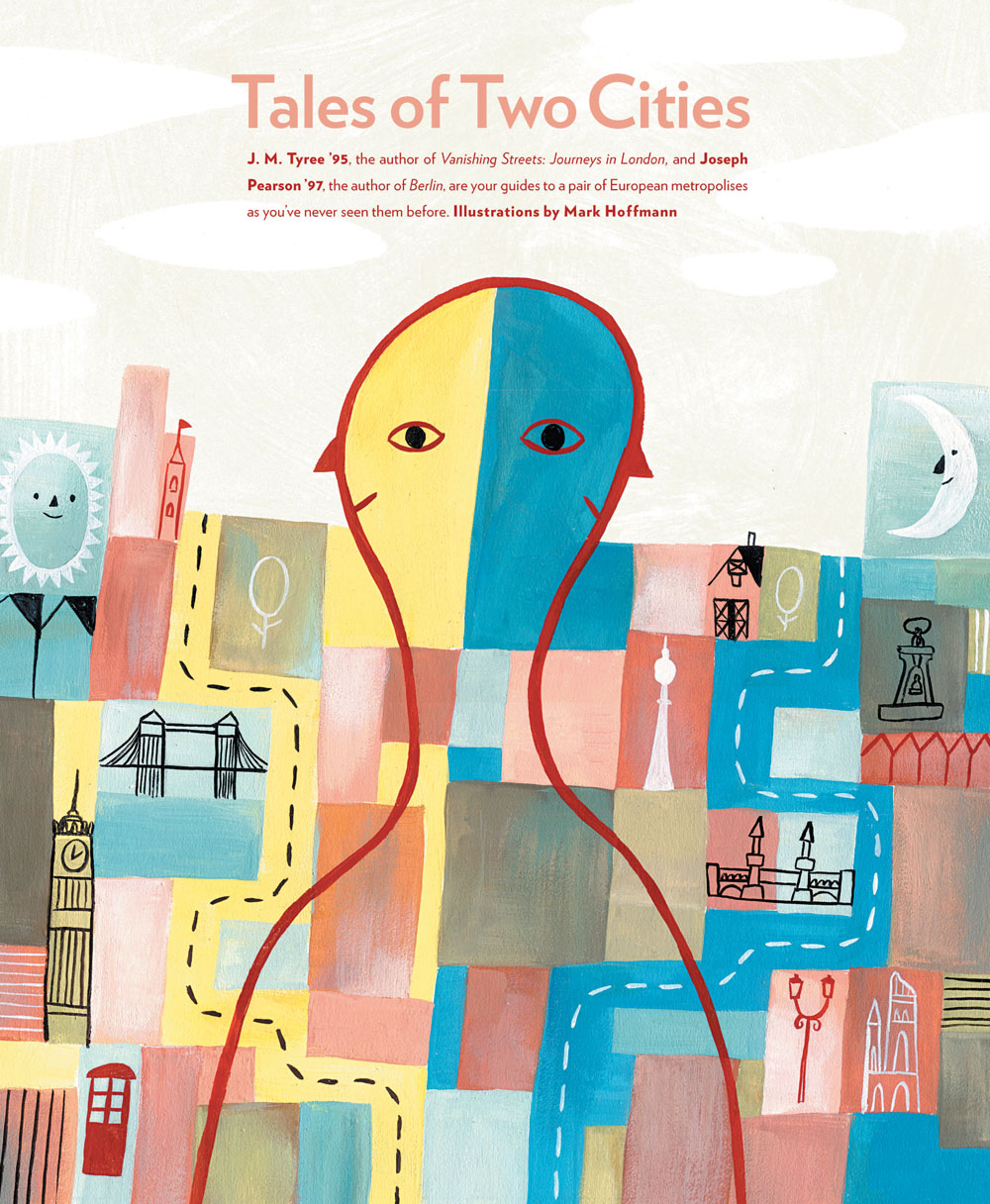 'Tales of Two Cities', print format opener.