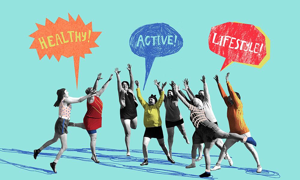 Active Healthy Lifestyle - NN272