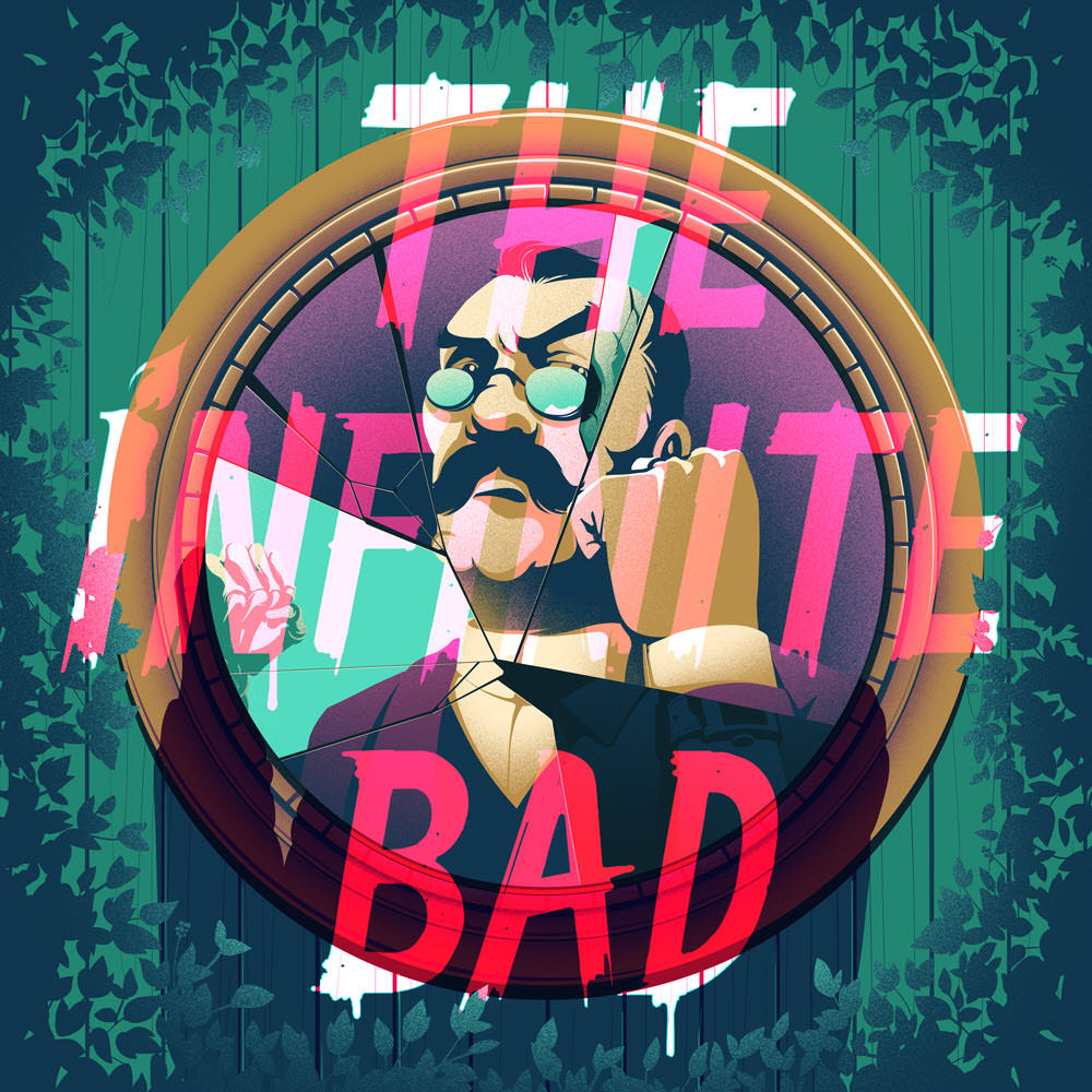 Infinite Bad Series. Illustrated by Eric Chow.