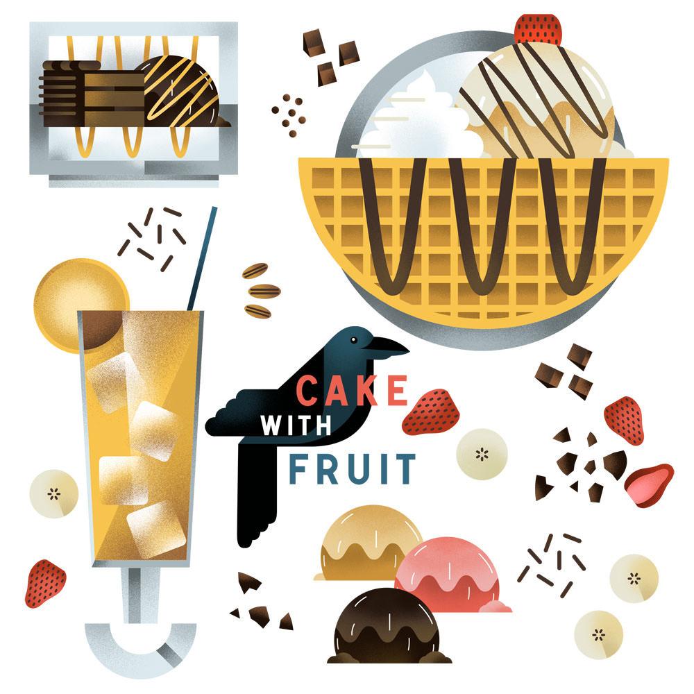 Dessert Icons - DM317