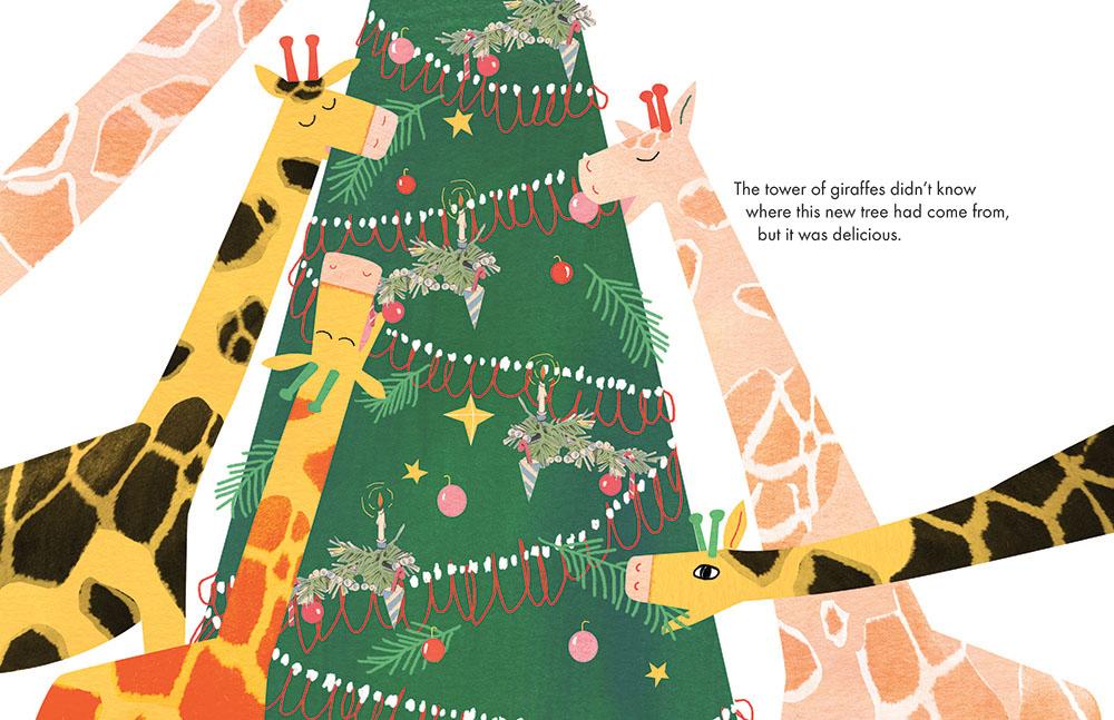'A Tower of Giraffes'.