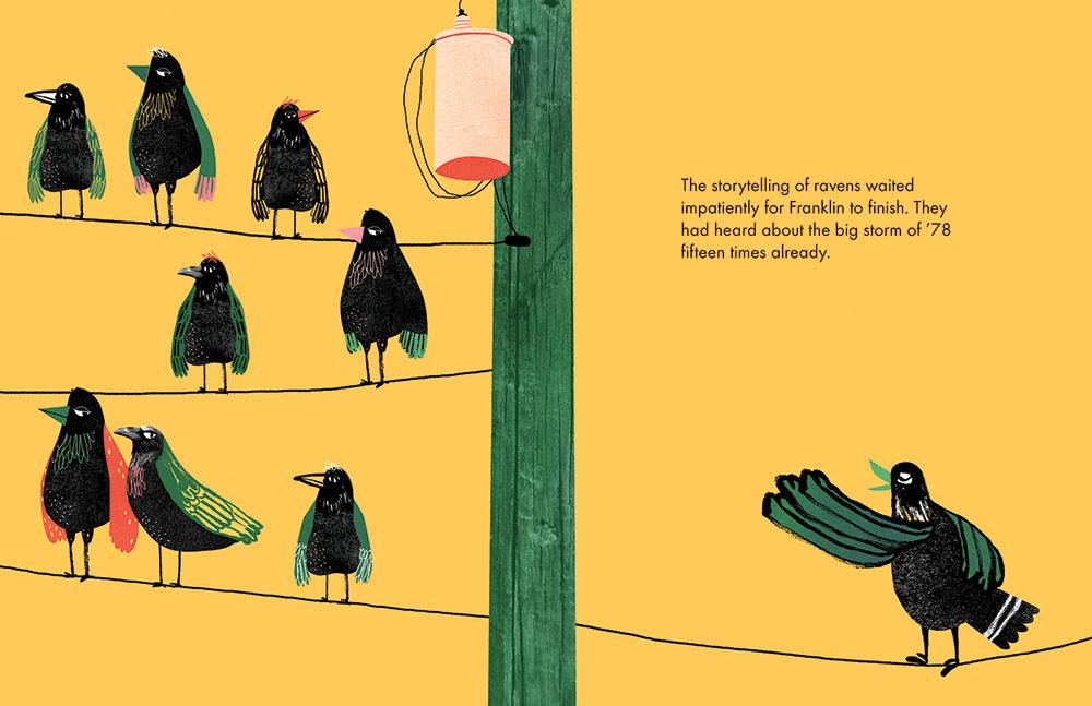 'A Storytelling of Ravens'.
