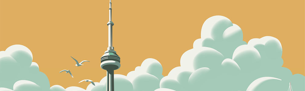 'City of Toronto'. Illustration by Gary Alphonso.