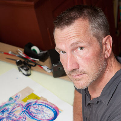Carl Wiens Illustrator Headshot