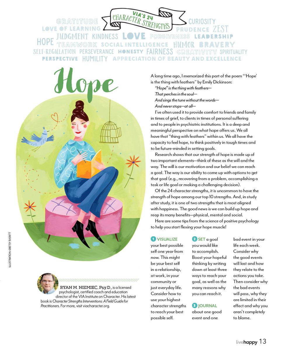 Hope. Illustration by Betsy Everitt.