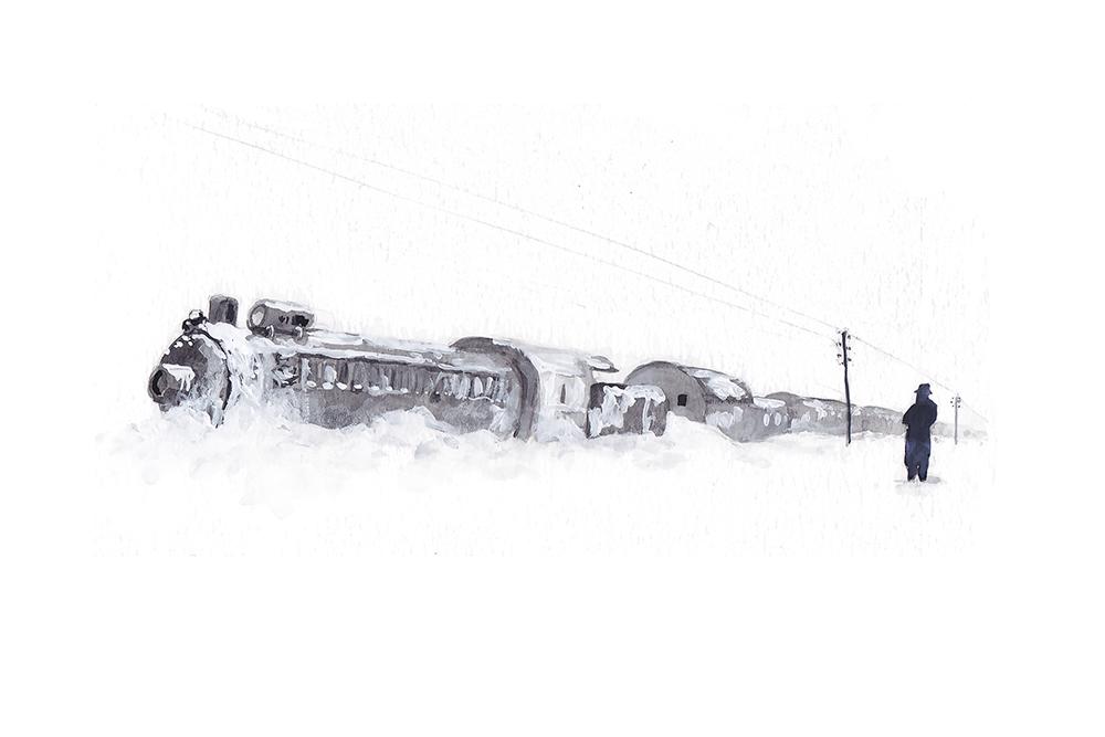 Snowbound Orient Express - DB146