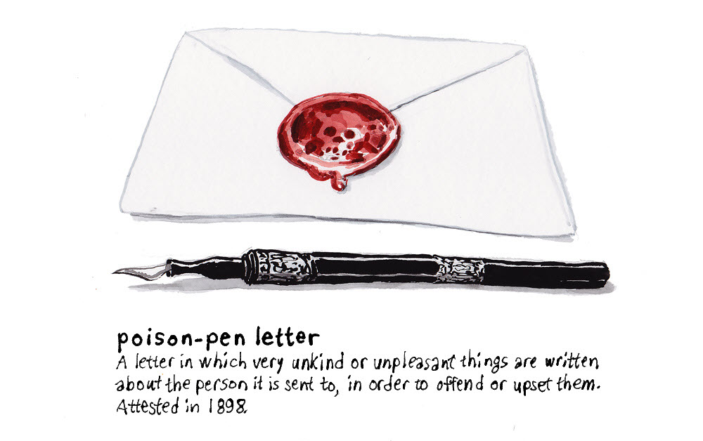 Poison Pen Letter - DB173