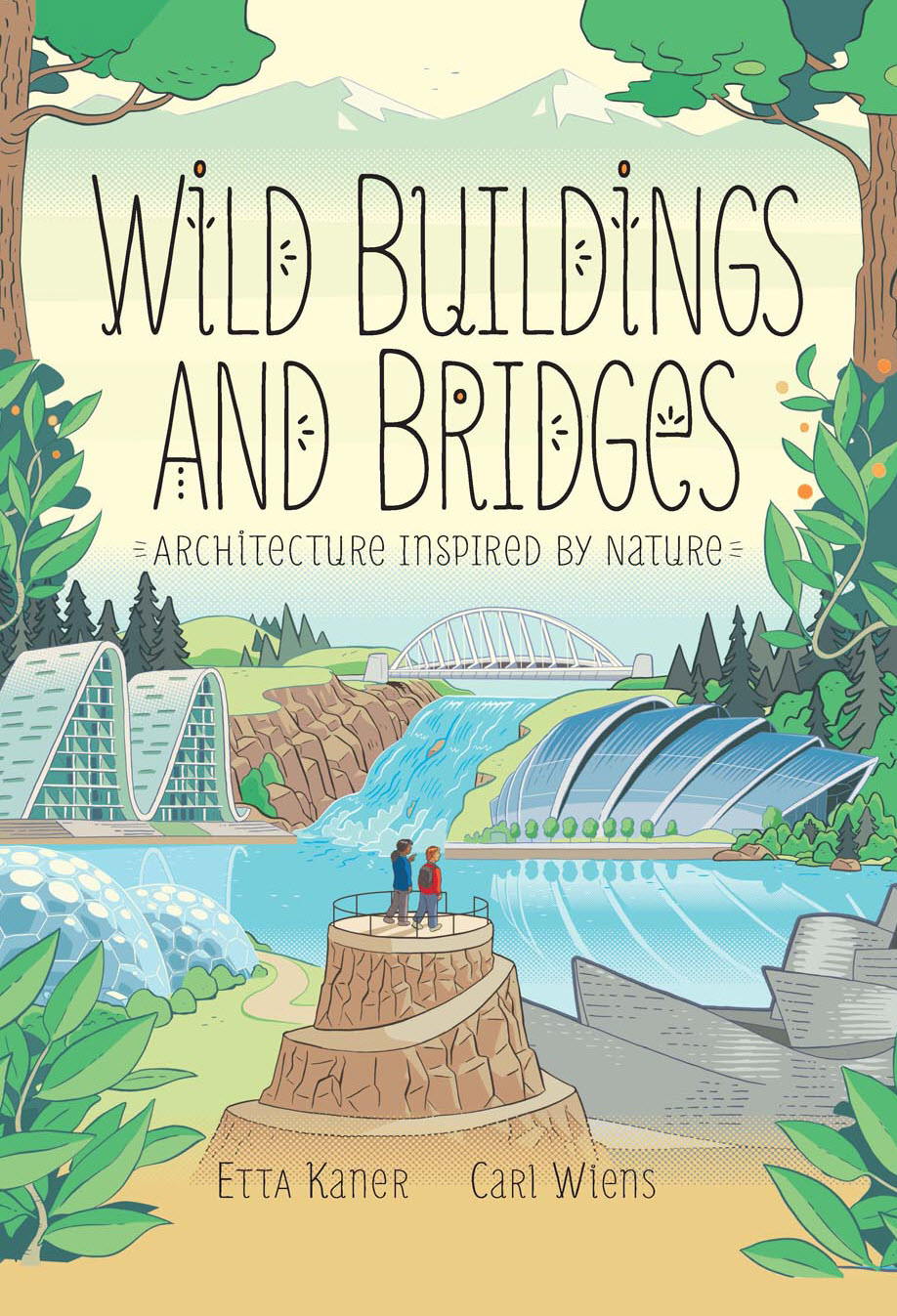 Wilding Building and Bridges. Cover illustration by Carl Wiens.