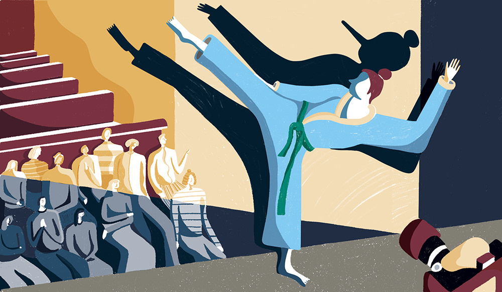 """Why I Lied in High School about Knowing Karate"" for Longreads."