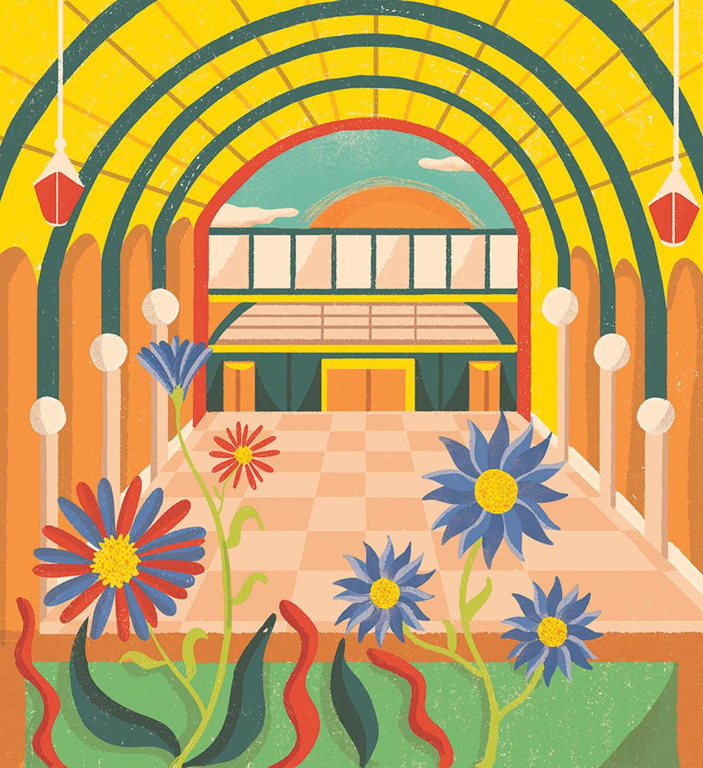 Sunrise Garden - EW109