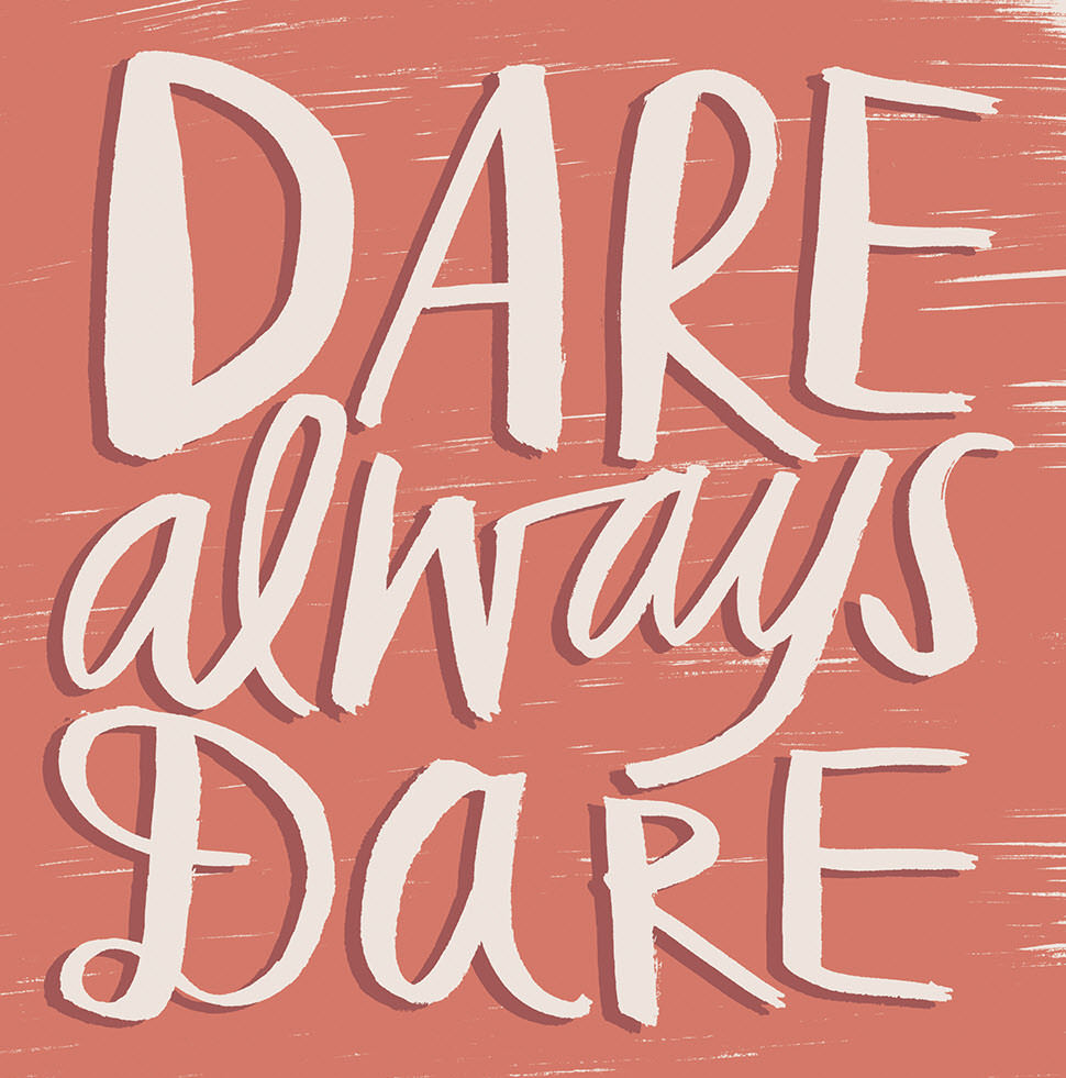 Dare Always Dare - KD644