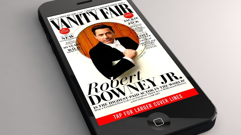 Vanity Fair iPhone Edition