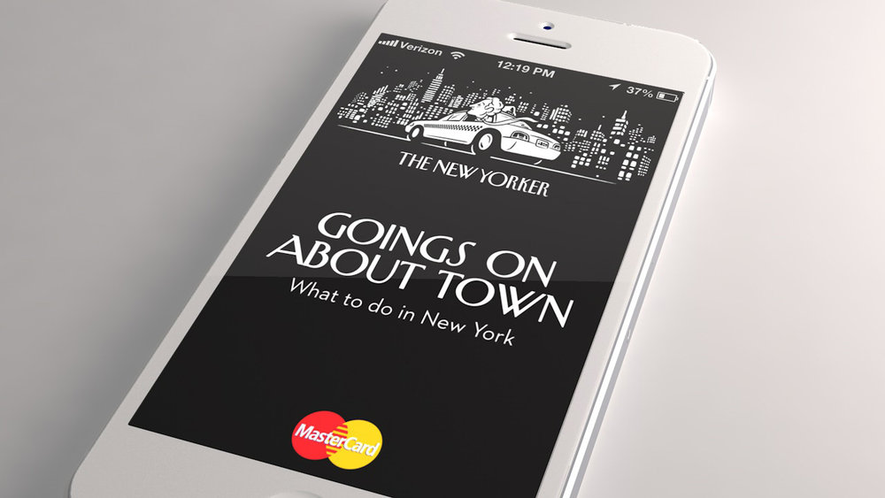 The New Yorker Goings On mobile app
