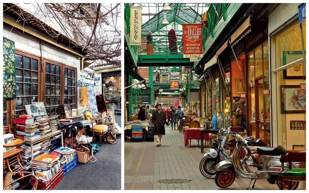 Парижский рынок Saint-Ouen официально появился в1885 г. и сегодня является одним из самых посещаемых мест во Франции.