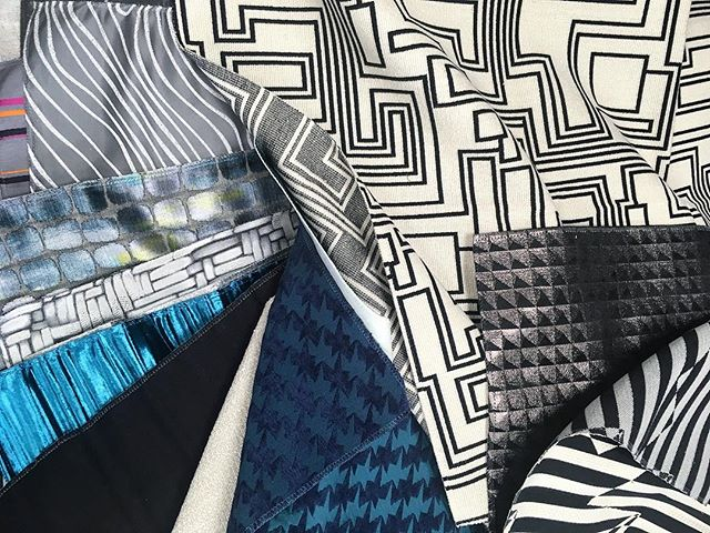 Мы влюблены в новую коллекцию Zinc Textile @zinctextile! ❤️We fall in love with new Zinc Textile collection! ❤️ #followbeauty #workingprogress #interiorstudio #interiordesign