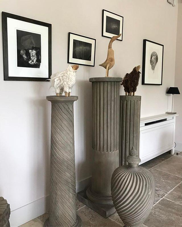 Какие милые скульптуры! ☺️ #provancestyle #sculpture #birds #interiordecorating #декоринтерьера #скульптура #птицыпоют
