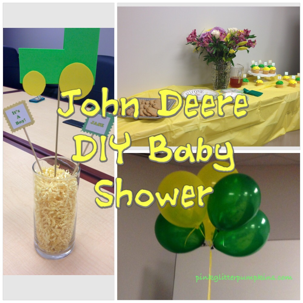 When A Was Planning A Baby Shower For A Coworker, I Knew John Deere Would  Be The Perfect Theme. Her Sonu0027s Nursery Was Going To Have A Lot Of John  Deere ...