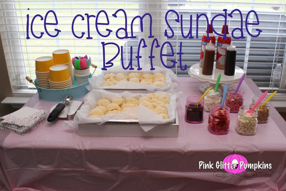 ice cream sundae buffet pink glitter pumpkins rh pinkglitterpumpkins com ice cream buffet malaysia ice cream buffet 2019