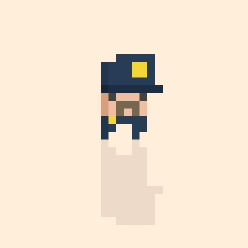 Officer Handlebar Moustache.