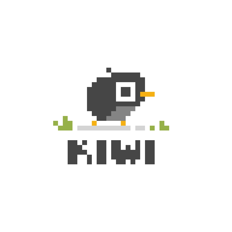 Cute kiwi bird.