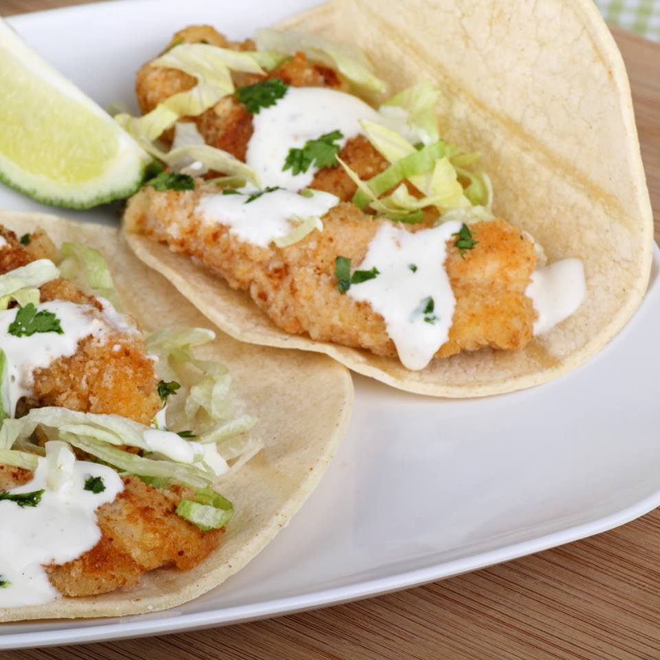 Fish tacos at Cambridge