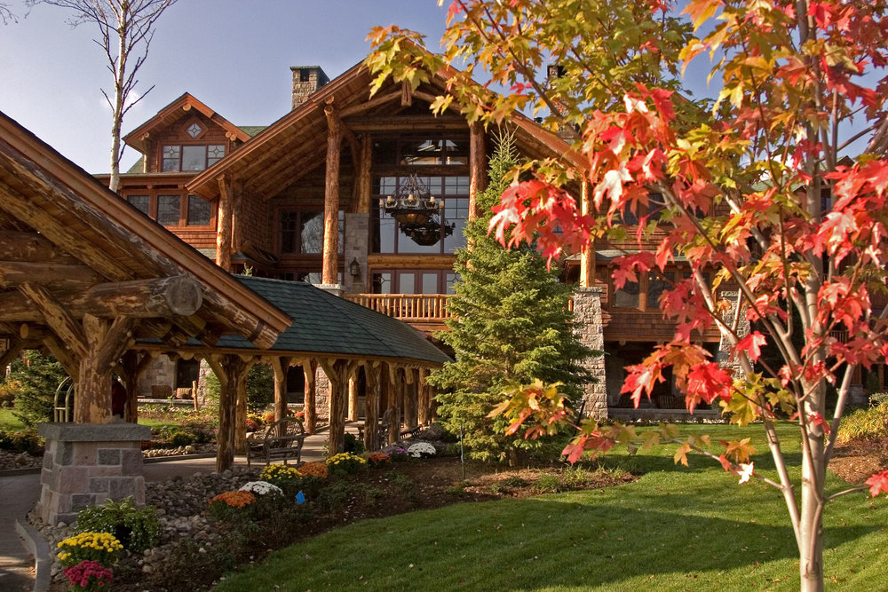 The Whiteface Lodge Exterior