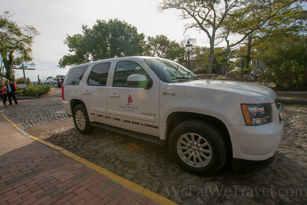 Need a ride? Contact Harborview Nantucket's concierge to arrange a pickup from the airport or ferry.