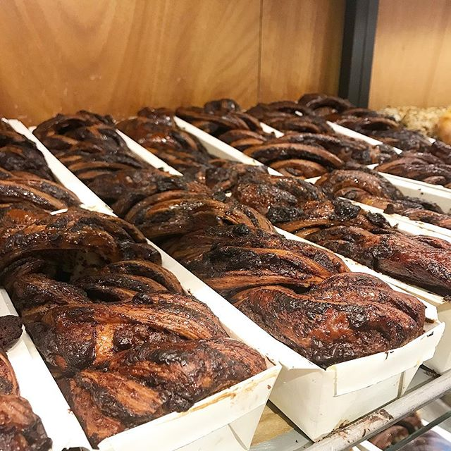 These chocolate babka are calling me!  @breadsbakery #nyc #yum #bakery #sweeeeets #foodie #chocolate #desserts #eatingnyc