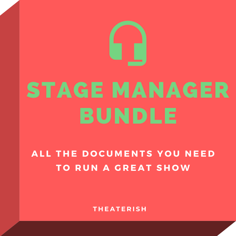 the stage management bundle theaterish. Black Bedroom Furniture Sets. Home Design Ideas