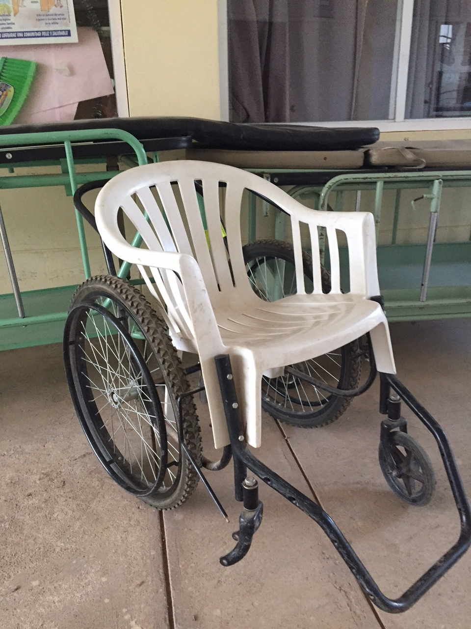 Existing wheelchair