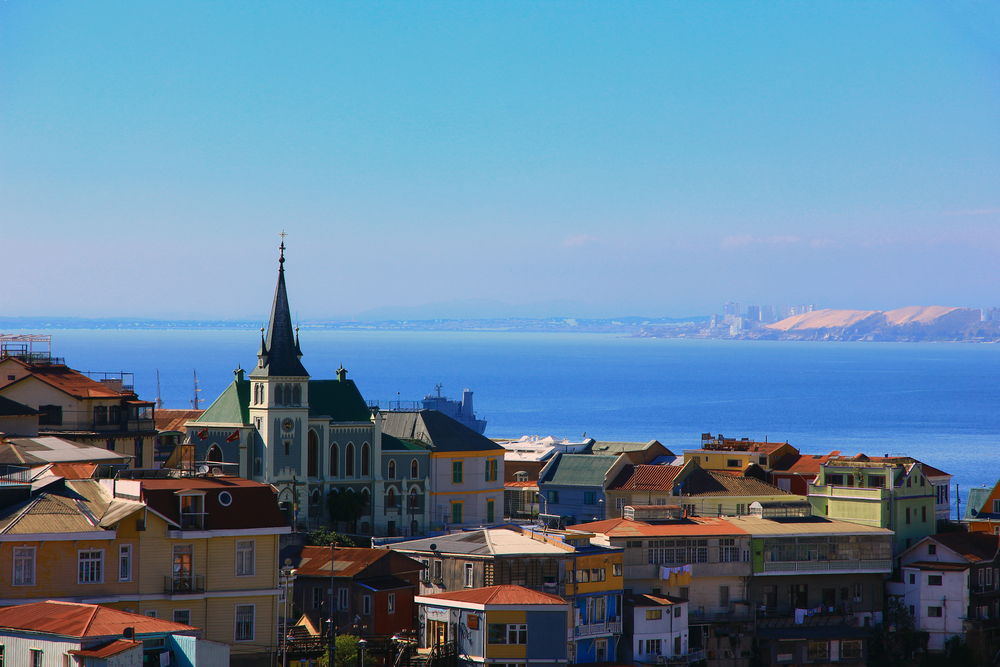 Valparaiso, Unesco city in Chile.